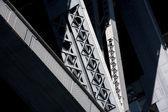 Metal bridge — Stock Photo