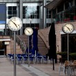 Time, Canary Wharf offices in London, UK — Foto Stock