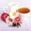 Tea Time, B&B — Stock Photo
