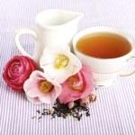 Tea Time, B&B — Stock Photo