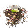 Stock Photo: Healthy Herbal Tea