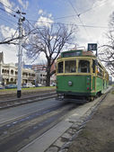 Trams in Melbourne — Stock Photo