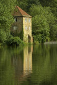 Durham, old pump house — Stock Photo