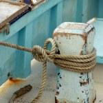 balıkçı teknesi — Stok fotoğraf #6455413