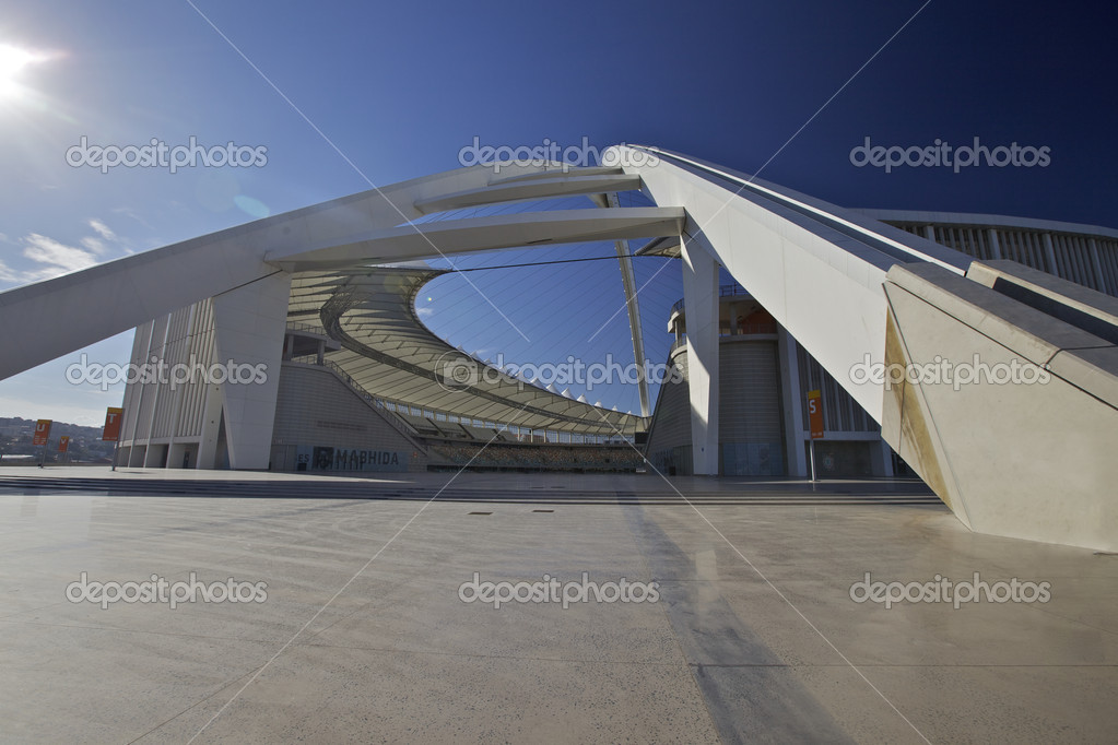 Soccer or Football World Cup Venue held in the city of Durban, South Africa — Stock Photo #6455488