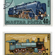 Train Stamps — Stock Photo #6670132