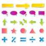 Set of Web Button Sticker — Stock Vector