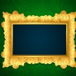 Royalty-Free Stock Vector Image: Photo Frame on Wall