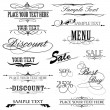 Vintage Design Elements — Stock Vector #5487835