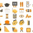 Set of Education Icon — Stock Vector