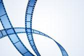 Film Reel Stripe — Stock Vector
