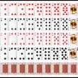 Постер, плакат: Complete set of Playing Card