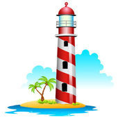 Lighthouse — Stock Vector