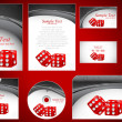 Royalty-Free Stock Vector Image: Business Template set