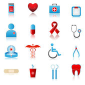 Set of Medical Icon — Stock Vector