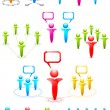Networking Set - Stock Vector