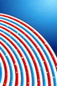 Background in American Flag Color — Stock Vector