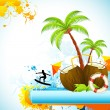 Royalty-Free Stock Vector Image: Exotic Island