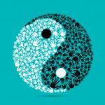 Yin Yang — Vecteur