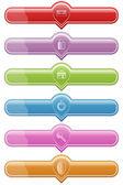 Web Button — Stock Vector