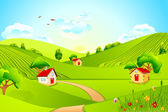 Beautiful Landscape — Stock Vector