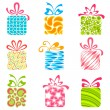 Colorful Gift Box - Stock Vector