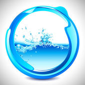Water Splash — Stock Vector