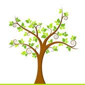 Green Tree — Stock Vector