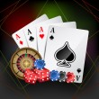 Royalty-Free Stock Vectorielle: Casino Card