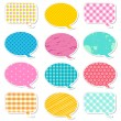 chat bubble — Stock Vector