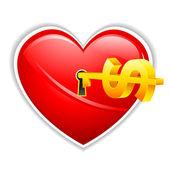 Aşk iş — Stok Vektör