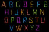 Set of Alphabet — Stock Vector