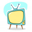 Television — Stock Vector #6042757