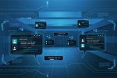 Comunicación global — Vector de stock