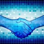 Hand Shake — Stock Vector #6152742