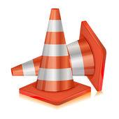 Road Cone — Stock Vector