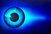 Technical Eye — Stock Vector