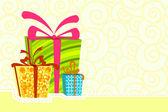 Boîte à cadeau — Vecteur