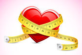 Zdravé srdce — Stock vektor