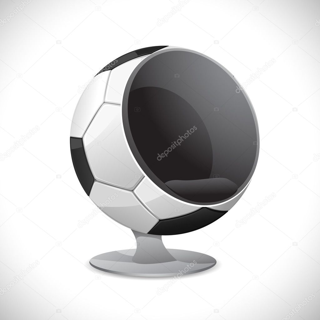 Image Gallery Soccer Chair