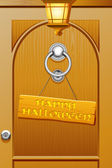 Przyjazny halloween — Wektor stockowy