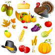 Stock Vector: Thanksgiving