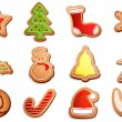 Royalty-Free Stock ベクターイメージ: Christmas Cookies