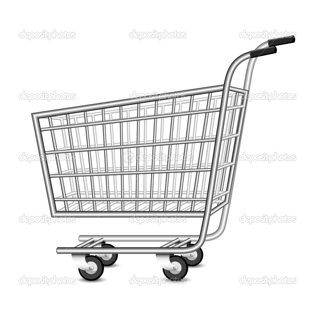 shopping cart Colouring Pages