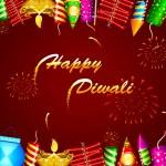Fondo de Diwali — Vector de stock