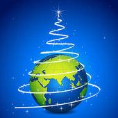 Worldwide Christmas Celebration — Stock Vector