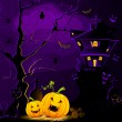 Halloween Night — Stockvectorbeeld