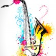 Saxophone - Stock Vector