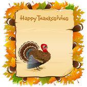 Thanksgiving Invitation — Stock Vector
