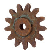 Old rusty gear — Stock Photo